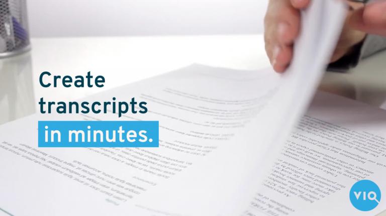 FirstDraft - Create transcripts in minutes