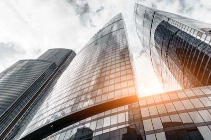 Finance City Skyscraper