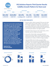 Q3 2020 | Financial Results